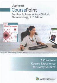 Introductory Clinical Pharmacology Lippincott Coursepoint Access Code