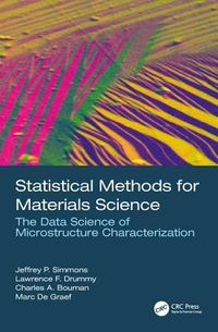 Statistical Methods for Materials Science