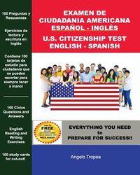 Examen De Ciudadan?a Americana Espa?ol Y Ingl?s / U.S. Citizenship Test English and Spanish