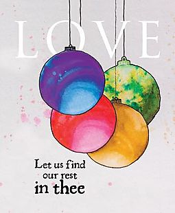 Love Ornament Advent Bulletin, Large
