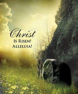 Christ Sunrise Easter Bulletin, Large