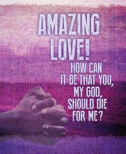 Amazing Love Images Bulletin, Large