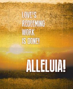 Alleluia! Easter Images Bulletin
