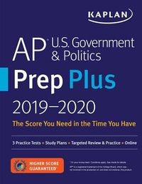 Kaplan AP U.S. Government & Politics Prep Plus 2019-2020