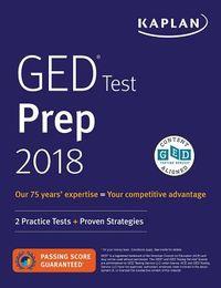 Kaplan GED Test Prep 2018