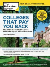 The Princeton Review Colleges That Pay You Back 2018