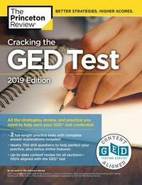 The Princeton Review Cracking the GED Test 2019