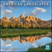 American Landscapes 2019 Calendar