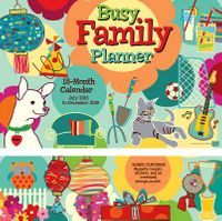 Busy Family 2019 Planner