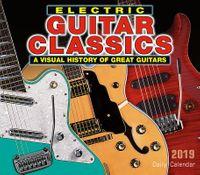 Electric Guitar Classics 2019 Calendar