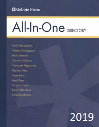 Gebbie Press All-in-One Media Directory 2019