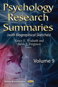 Psychology Research Summaries With Biographical Sketches