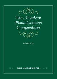 The American Piano Concerto Compendium