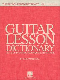 The Guitar Lesson Dictionary