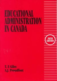 Educational Administration in Canada