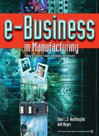 E-Business in Manufacturing
