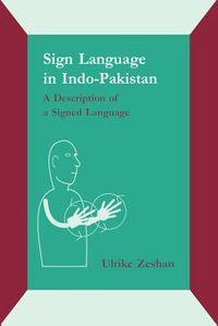 Sign Language in Indo-Pakistan