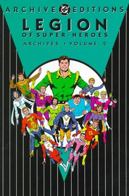 Legion of Super-hero Archives 2