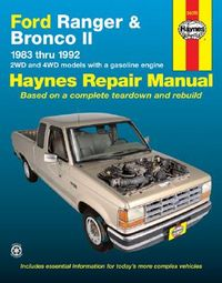 Haynes Ford Ranger and Bronco II, 1983-1992