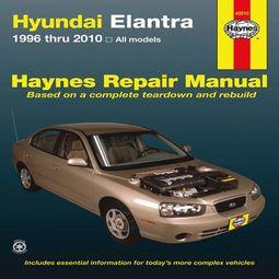 Haynes Hyundai Elantra Automotive Repair Manual