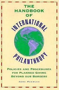 Handbook of International Philanthropy