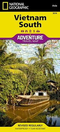 National Geographic Vietnam South Map