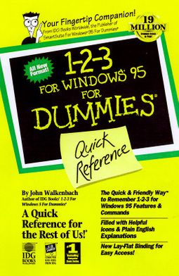 1-2-3 97 For Windows for Dummies Quick Reference