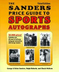 The Sander's Price Guide to Sports Autographs
