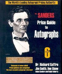 The Sander's Price Guide to Autographs