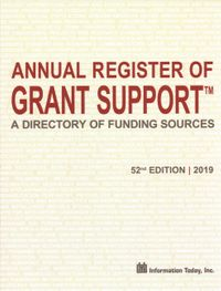 Annual Register of Grant Support 2019