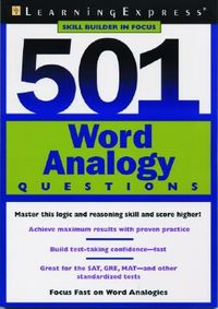 501 Word Analogy Questions