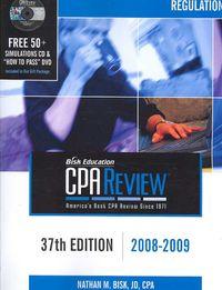 CPA Comprehensive Exam Review 2008-2009