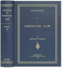 Analysis of American Law