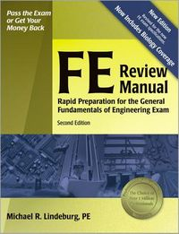 FE Review Manual by Lindeburg, Michael R
