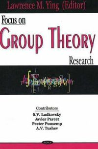 Focus on Group Theory Research