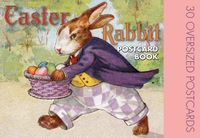 Easter Rabbit Postcard Book