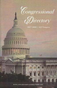 Official Congressional Directory 2017-2018, 115th Congress