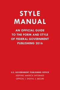 Style Manual 2016