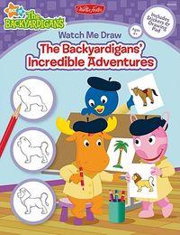 Watch Me Draw The Backyardigans' Incredible Adventures