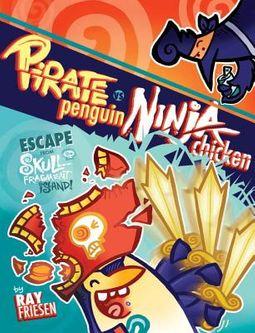 Pirate Penguin Vs Ninja Chicken 2