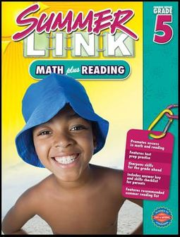 Summer Link Math Plus Reading
