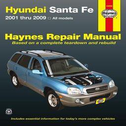 Hyundai Santa Fe Automotive Repair Manual