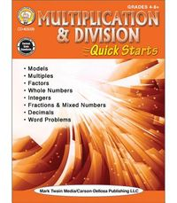 Multiplication & Division Quick Starts Workbook