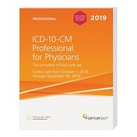 ICD-10-CM Professional for Physicians 2019