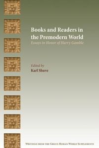 Books and Readers in the Premodern World