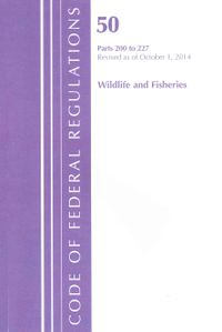 Code of Federal Regulations, Title 50, Wildlife and Fisheries