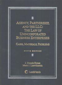 Agency, Partnership and the LLC