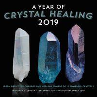 A Year of Crystal Healing 2019 Calendar