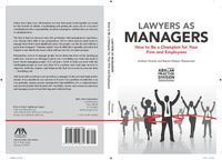 Lawyers As Managers
