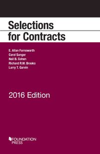 Selections for Contracts 2016